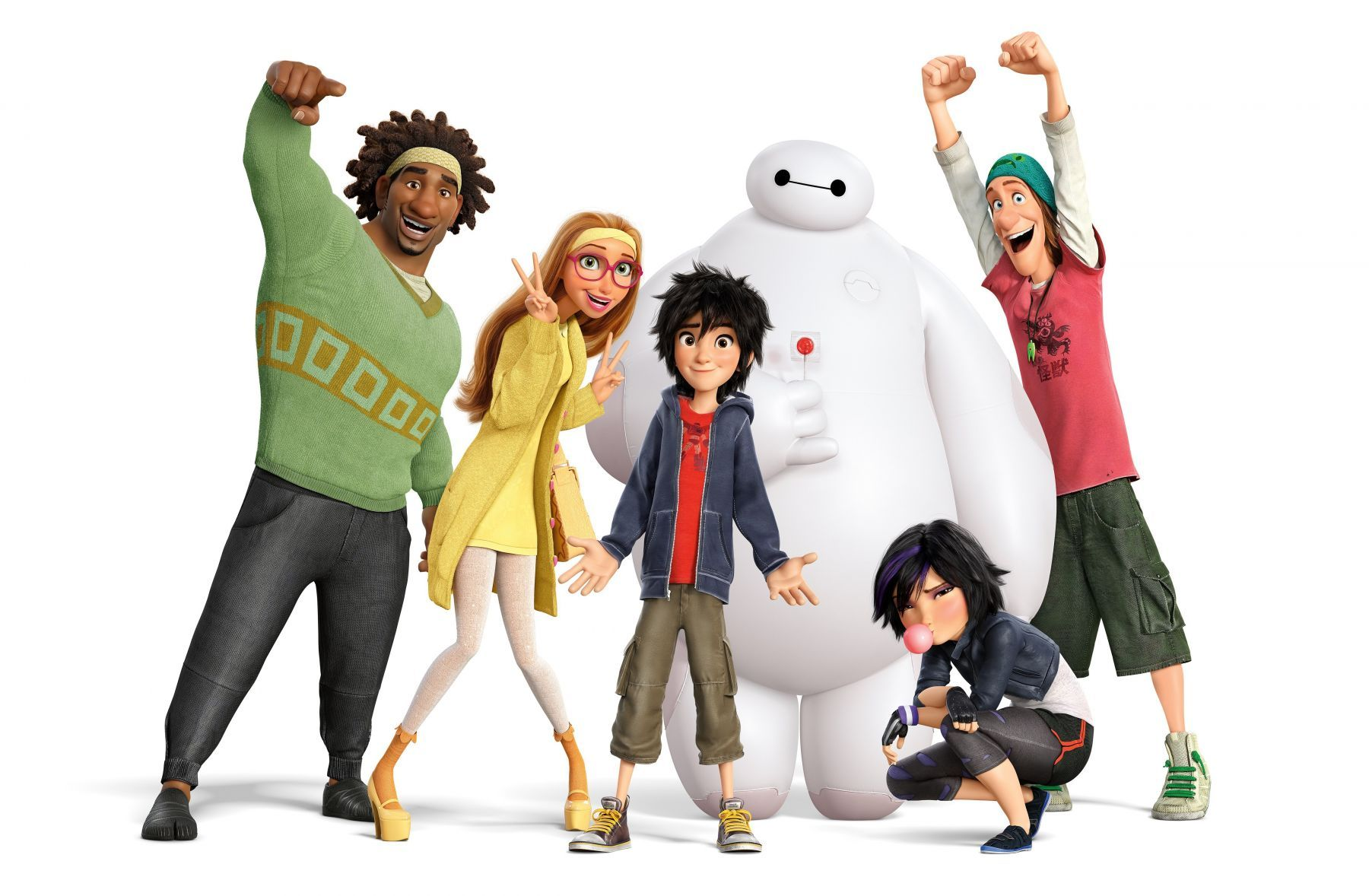 I've Been Talking and Writing about 'Big Hero 6'